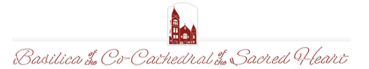 Basilica of the Co-Cathedral of the Sacred Heart Logo